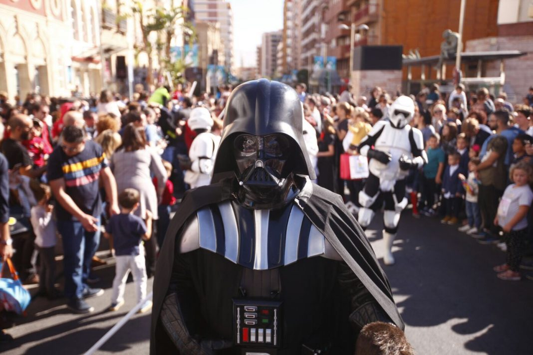 pasacalles star wars fical